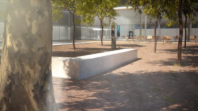 La place du Campus Créatif