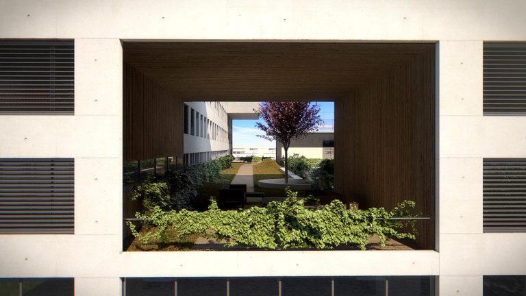 La High Line du Campus Créatif