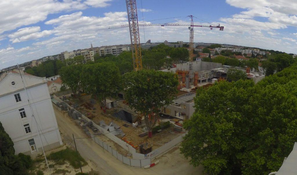 Mai 2019 : les murs grimpent pour le R+1