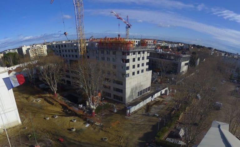 Décembre 2019 : tous les étages sont enfin sortis de terre